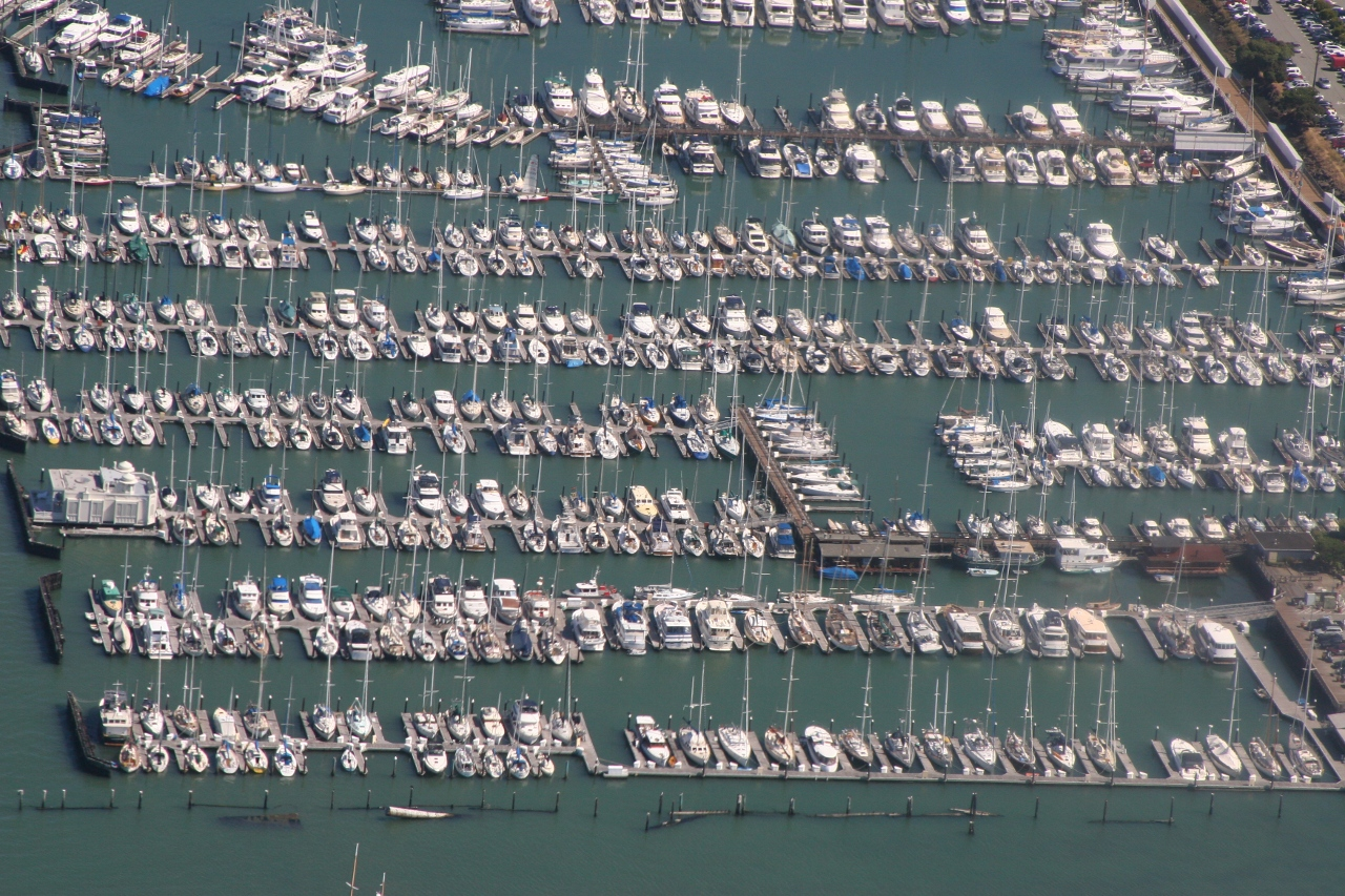 boats @ Richardson Bay