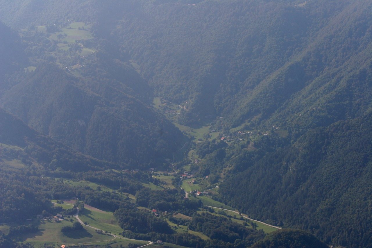 Slovenia from the air