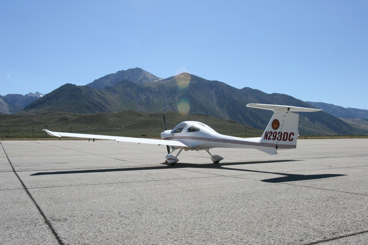 parking at Mammoth Lakes Airport (KMMH)