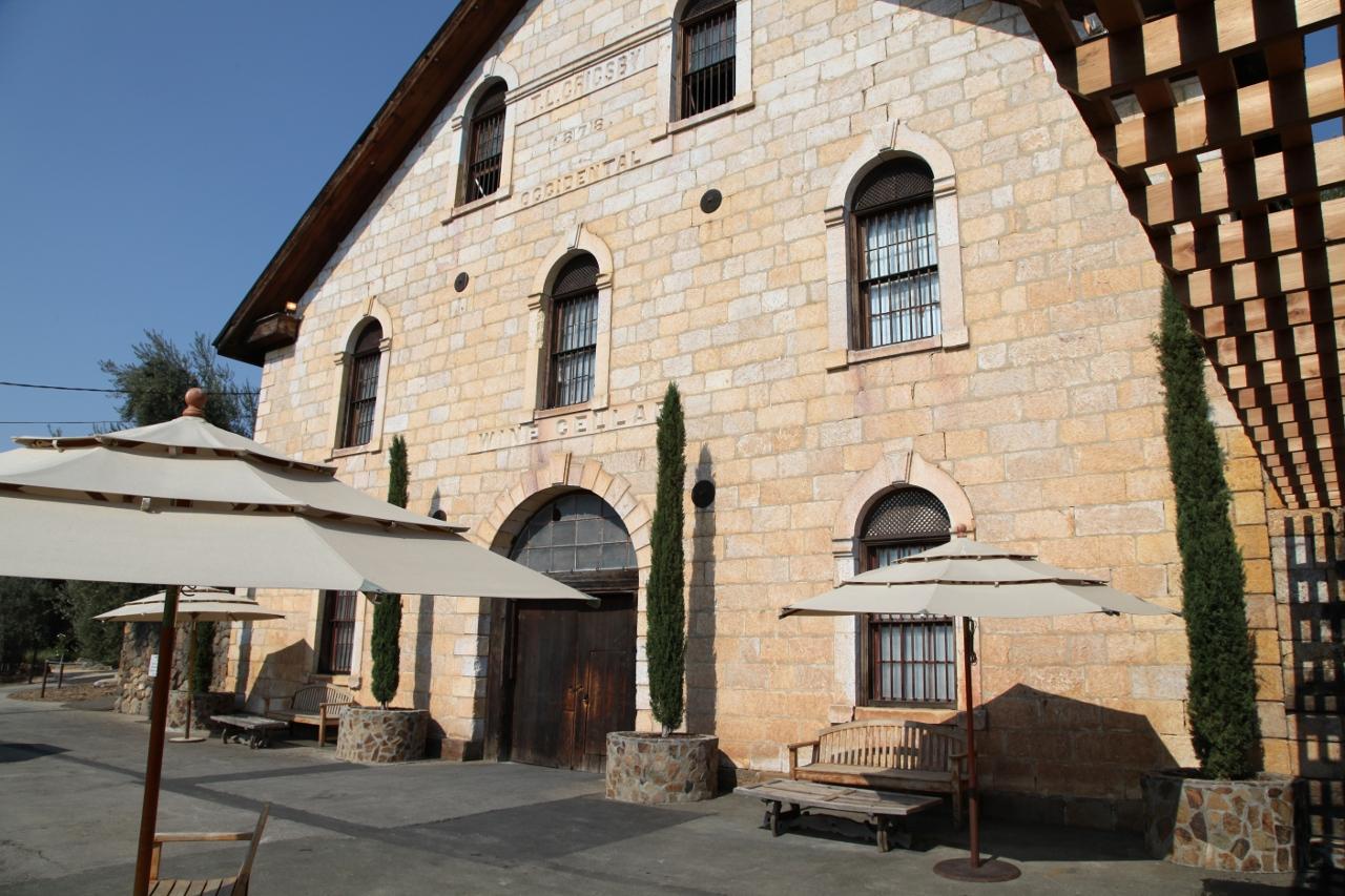 the old cellar of Regusci
