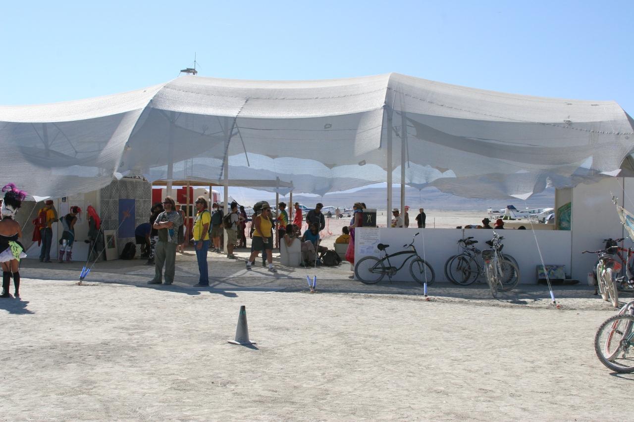 Burning Man departure area