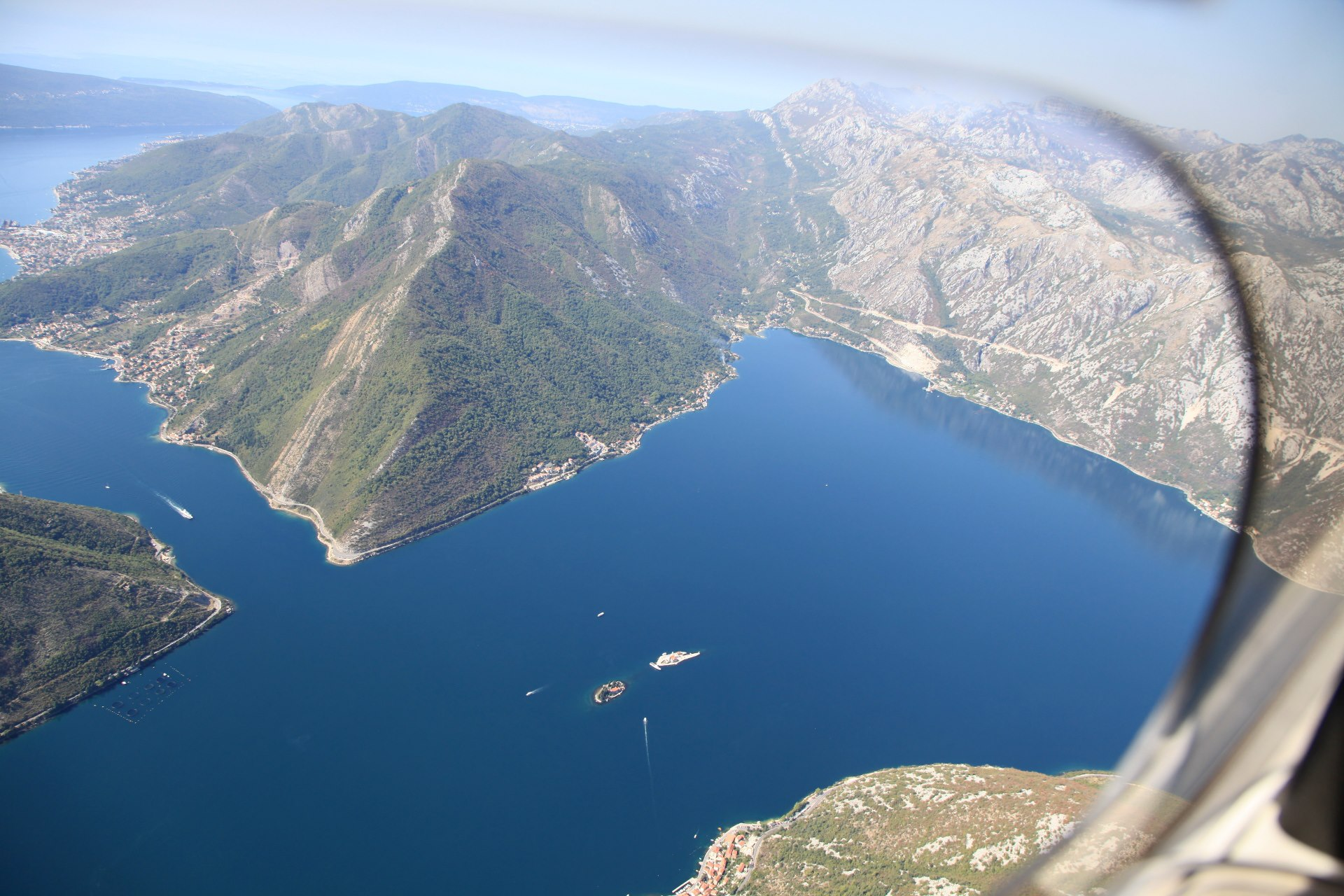 north end of the Bay of Kotor