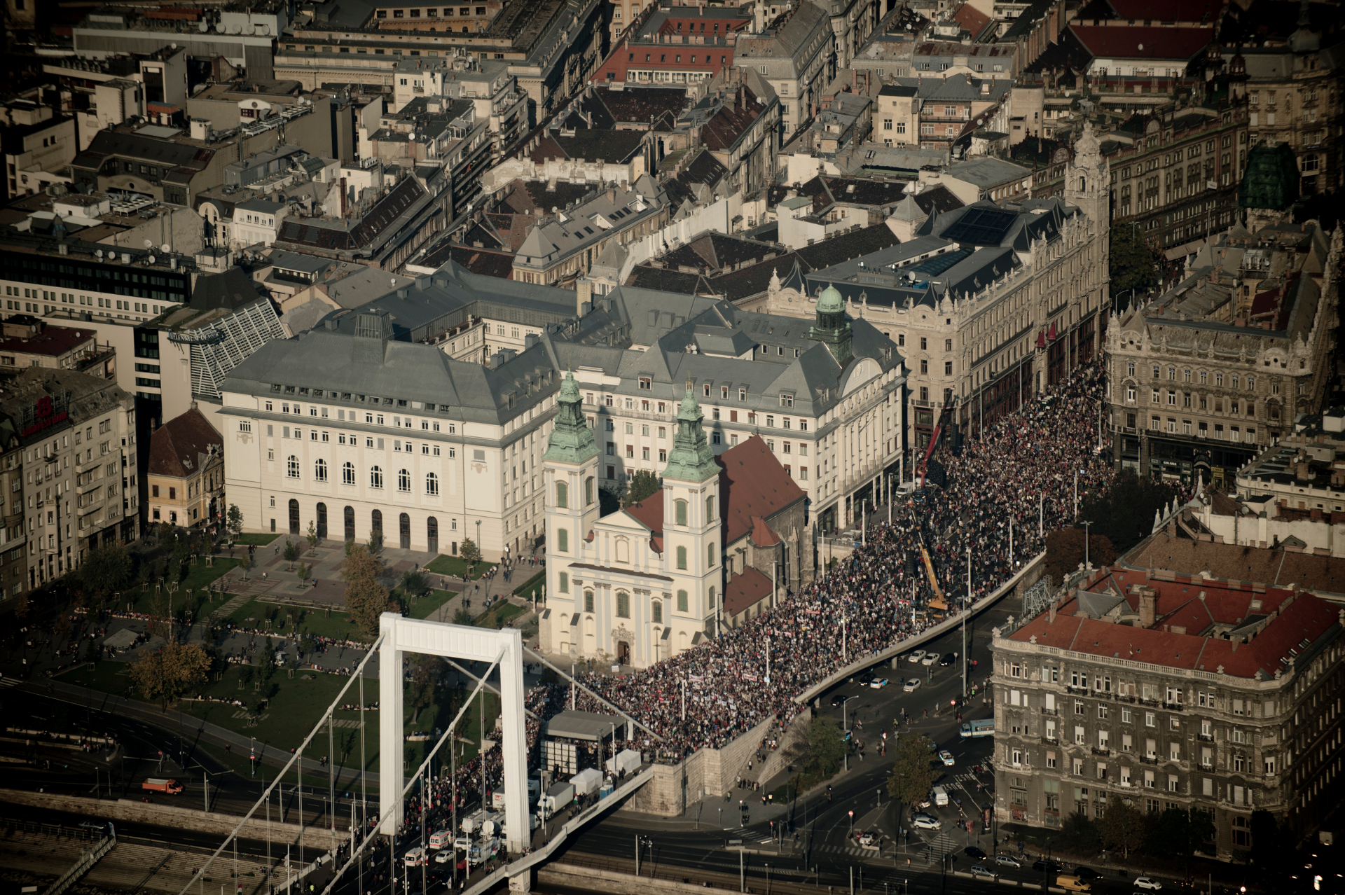 Milla demonstration, 2012.10.23.