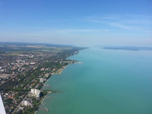 Balaton from above