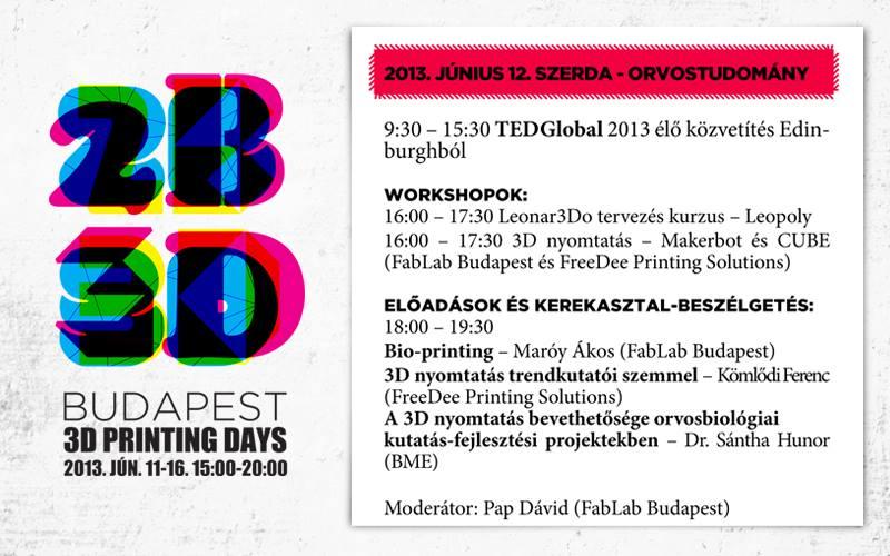 2B3D event flyer