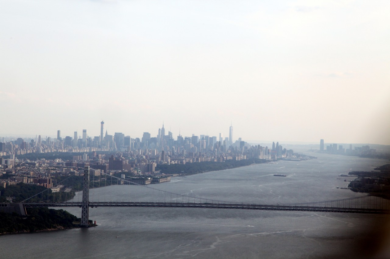 Manhattan & The George Washington Bridge